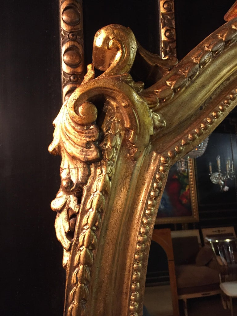 20th Century Rococo Wall-Mirror For Sale 2