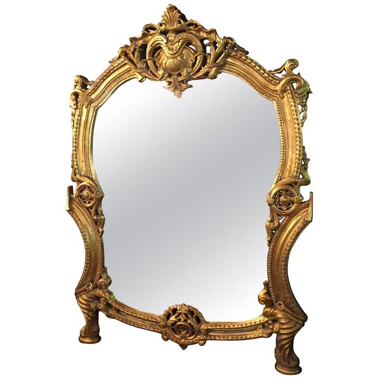 20th Century Rococo Wall-Mirror For Sale
