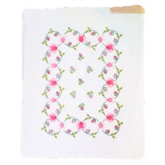 20th Century Roses Applique Quilt from Ohio