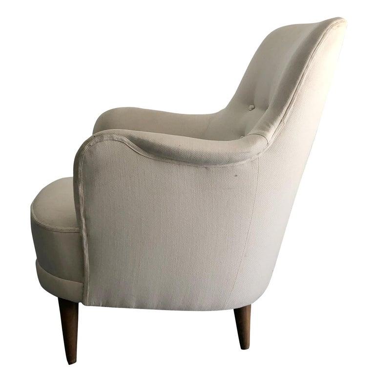 Mid-Century Modern 20th Century Samsas Chair by Carl Malmsten For Sale