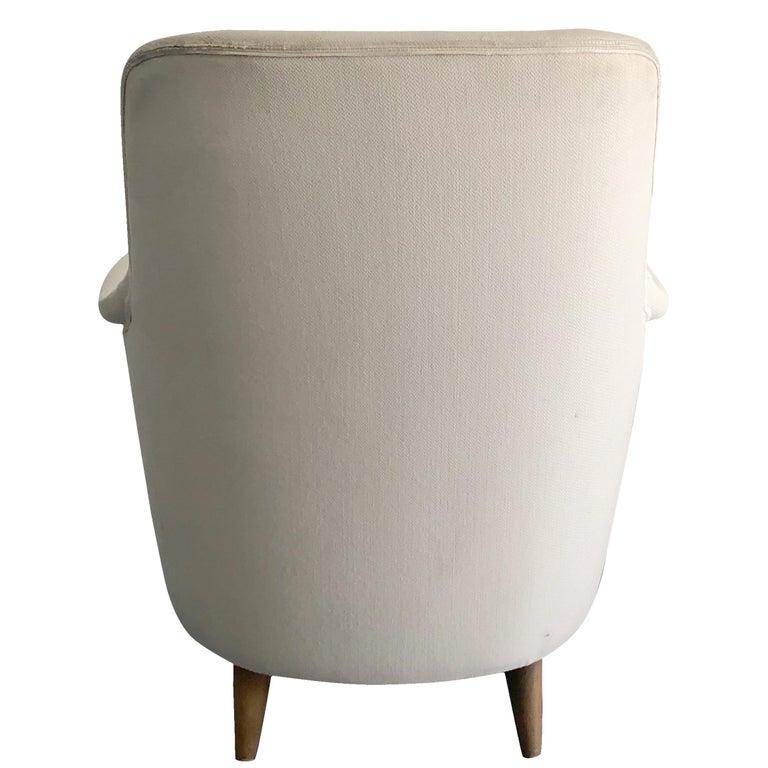 Birch 20th Century Samsas Chair by Carl Malmsten For Sale