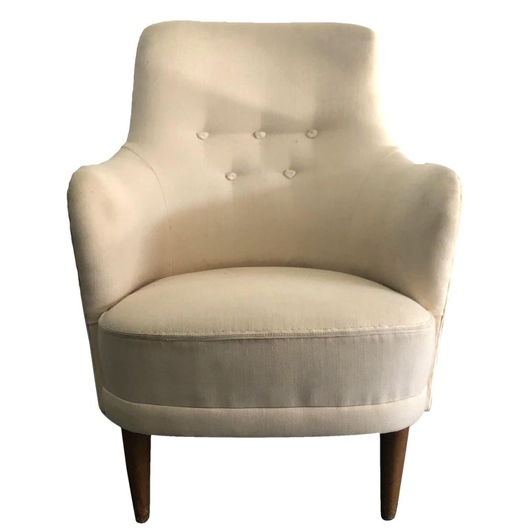 20th Century Samsas Chair by Carl Malmsten For Sale