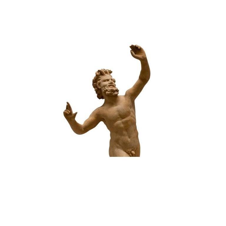 Classical Greek 20th Century Satiro Danzante For Sale