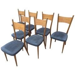 20th Century, Scandinavian Chairs Set, 1960s