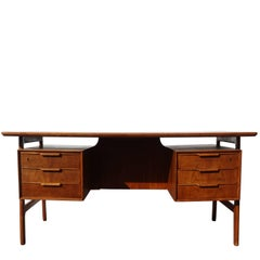 20th Century Scandinavian Gunni Omann Writing Desk