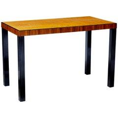 20th Century Scandinavian Modern Birch Side Table