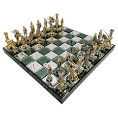 20th Century Sculptural Italian Chess Game