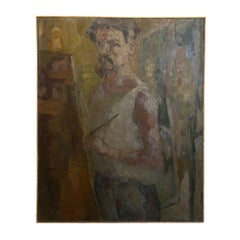 20th Century Self-Portrait of Daniel Clesse