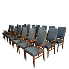 20th Century Set of 21 Carl Malmsten Chairs