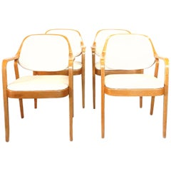 20th Century Set of Four Armchairs by Don Pettit
