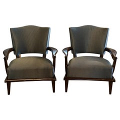 20th Century Set of French Armchairs by Etienne-Henri Martin