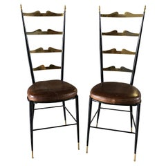 20th Century Set of Paolo Buffa Side Chairs