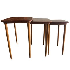 20th Century Set of Scandinavian Nesting Tables