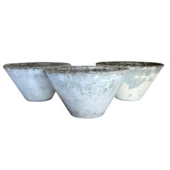 20th Century Set of Three Willy Guhl Planters