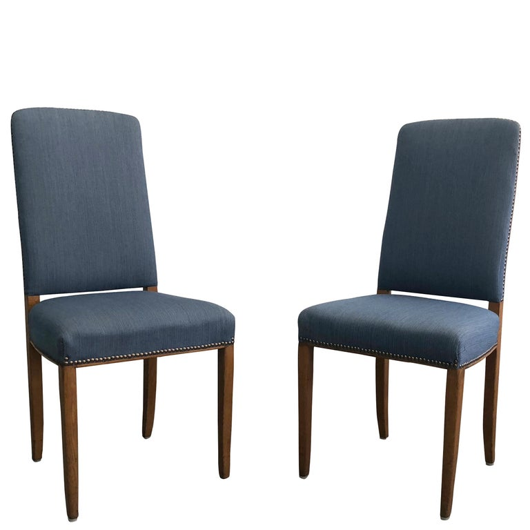 20th Century Set of Two Chairs by Carl Malmsten For Sale