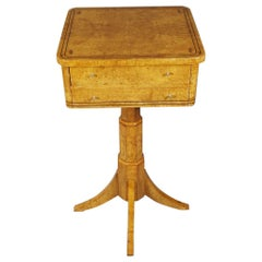 20th Century Side Table in the Biedermeier Style