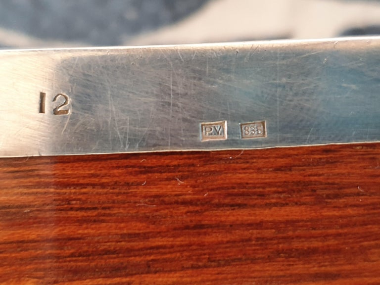 20th Century Silver Box, Hungary, circa 1980 For Sale 2