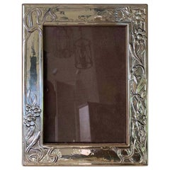 20th Century Silver Picture Frame, Possibly Sterling