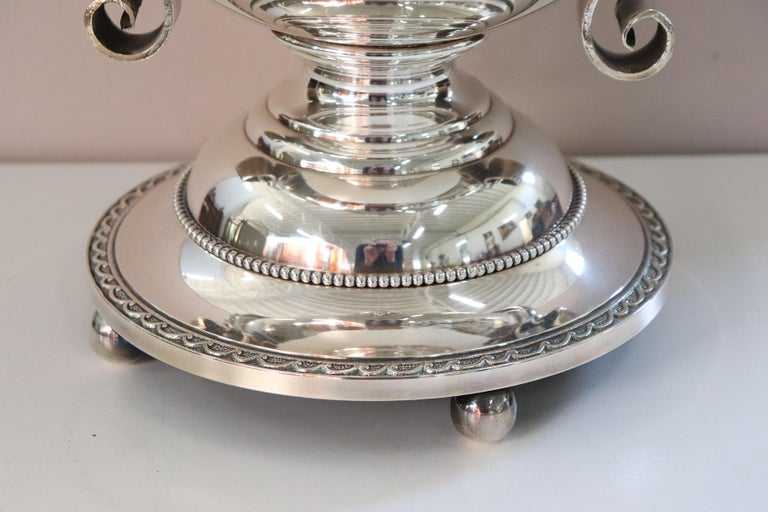 Mid-20th Century 20th Century Silver Plate Champagne Bucket or Wine Cooler For Sale