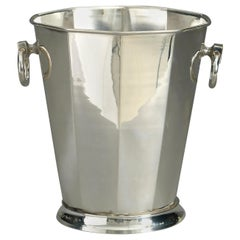 20th Century Silver Plated Champagne Cooler