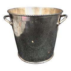 20th Century Silvered Champagne Ice Bucket
