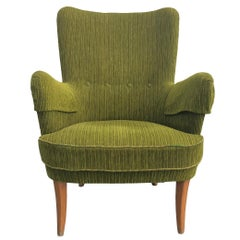 20th Century Single Swedish Armchairs In The Style Of Carl Malmsten
