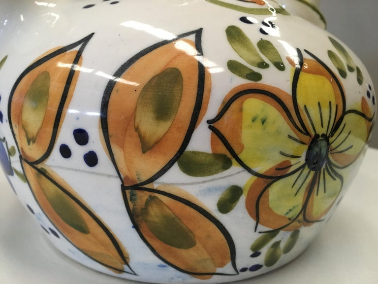 20th Century Spanish Glazed Cruche or Pitcher For Sale 1