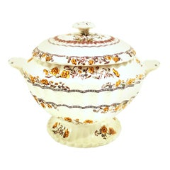 """20th Century Spode England Large """"Buttercup"""" Lidded Soup Tureen"""