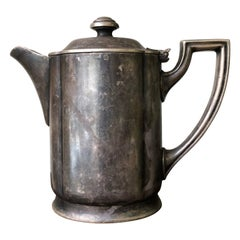 20th Century Sterling Silver Tea Pot from Hotel Post Hintersee, Austria