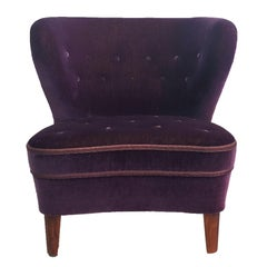 20th Century Swedish Lounge Chair Goesta Jonsson