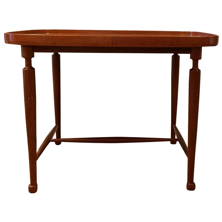 20th Century Swedish Svensk Tenn Cuban Mahogany Coffee Table by Josef Frank For Sale