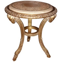 20th Century Tea Table, Inspired by the Drawings of Filippo Juvarra, 1753