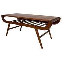20th Century Teak Louis Van Teeffelen Coffee Table, 1960's