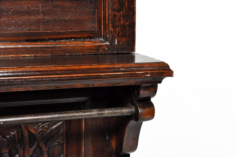 20th Century Teak Wood Ticket Booth For Sale 8