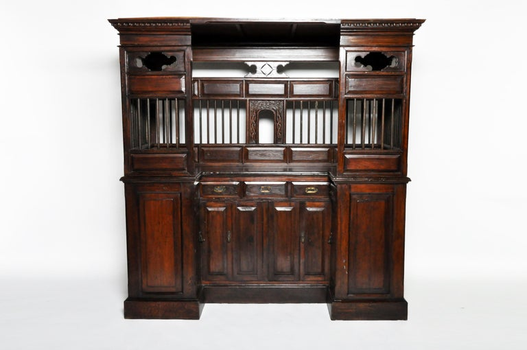 20th Century Teak Wood Ticket Booth For Sale 10