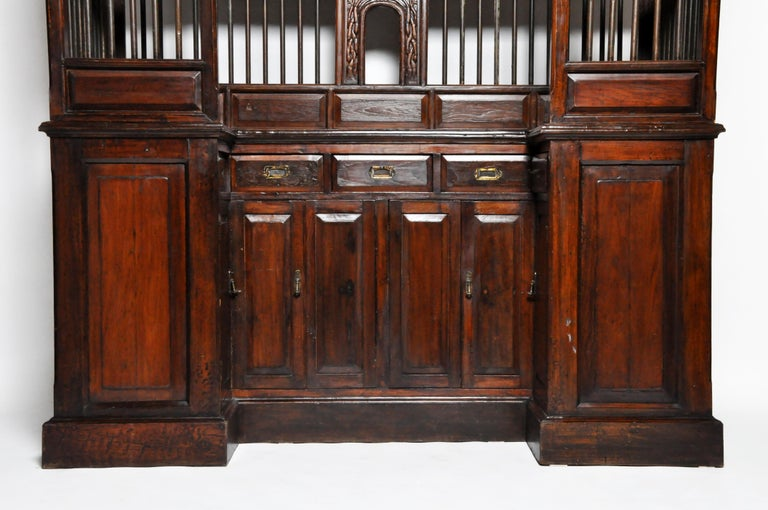 20th Century Teak Wood Ticket Booth For Sale 12