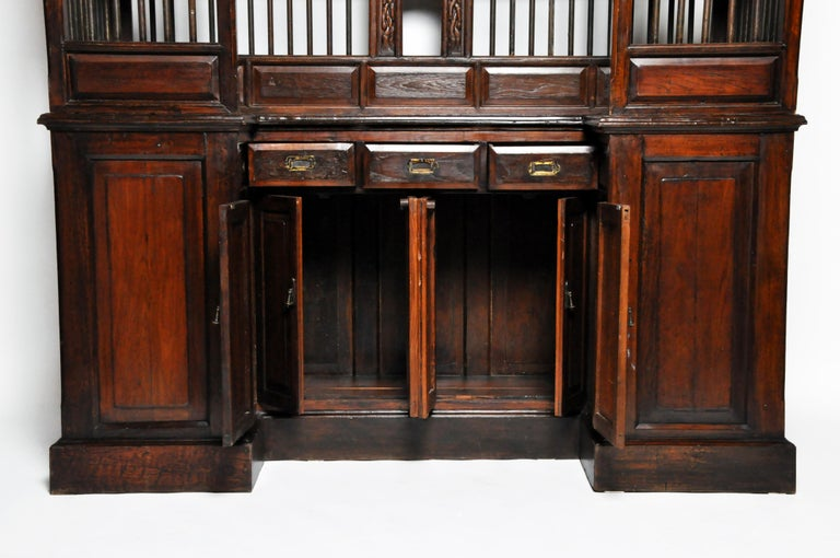 20th Century Teak Wood Ticket Booth For Sale 14