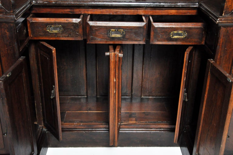 20th Century Teak Wood Ticket Booth For Sale 15