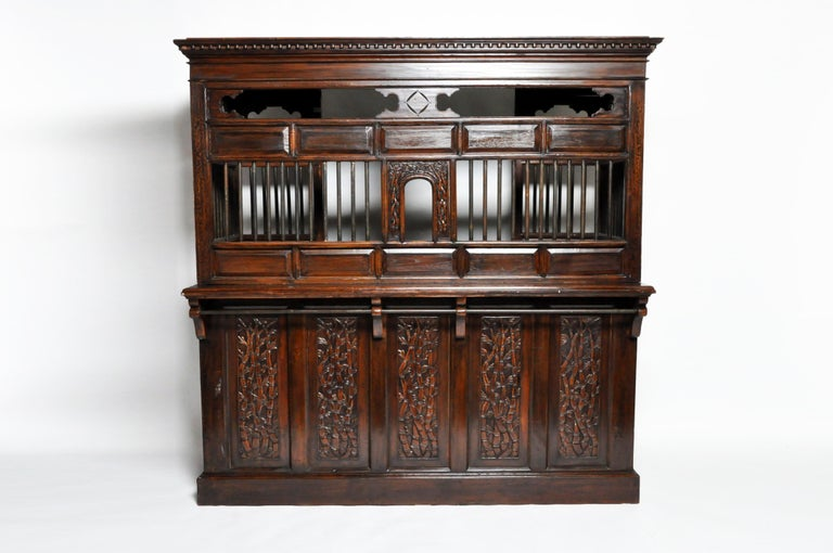 20th Century Teak Wood Ticket Booth In Good Condition For Sale In Chicago, IL