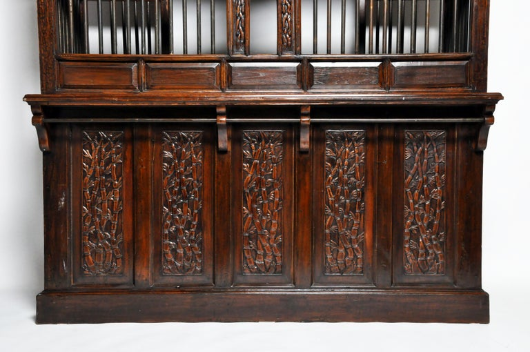 20th Century Teak Wood Ticket Booth For Sale 1