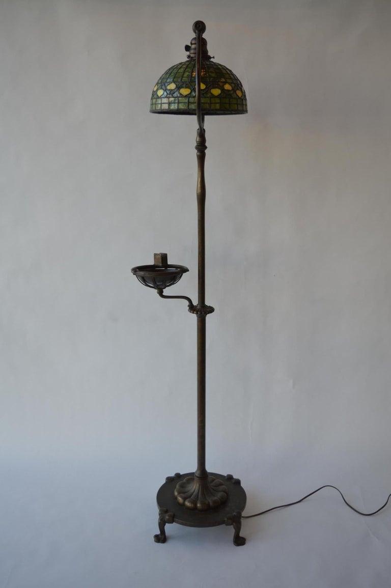 20th Century Tiffany Studios Floor Lamp For Sale 6