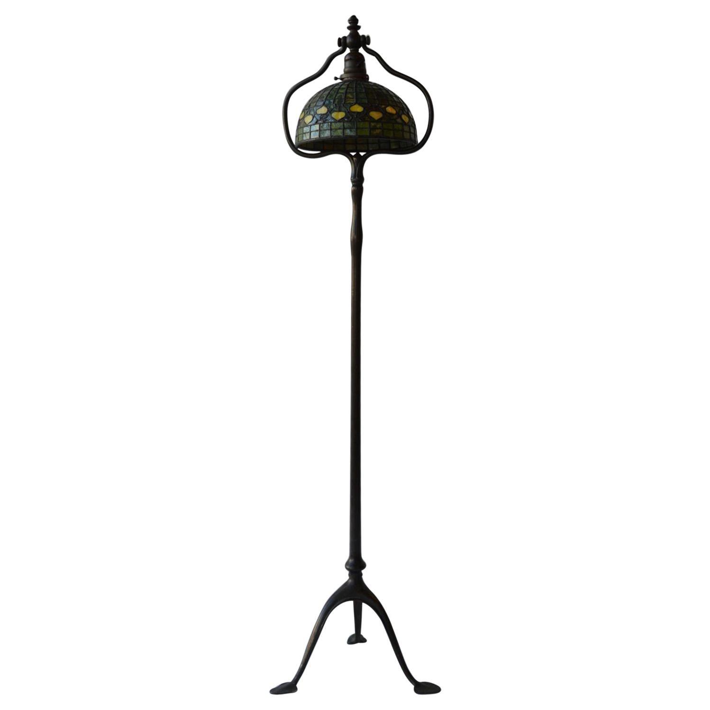 20th Century Tiffany Studios Floor Lamp