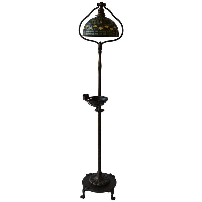 20th Century Tiffany Studios Floor Lamp For Sale