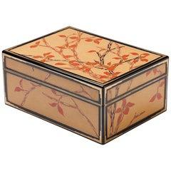 20th Century Toshio Ornamental Lacquer Box