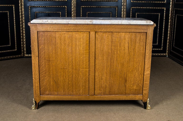 20th Century Transition Style Commode after Jean Henri Riesener For Sale 11
