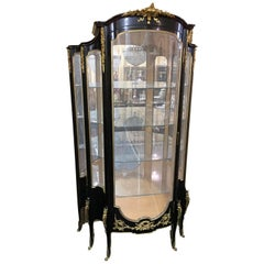 20th Century Transition Style French Vitrine