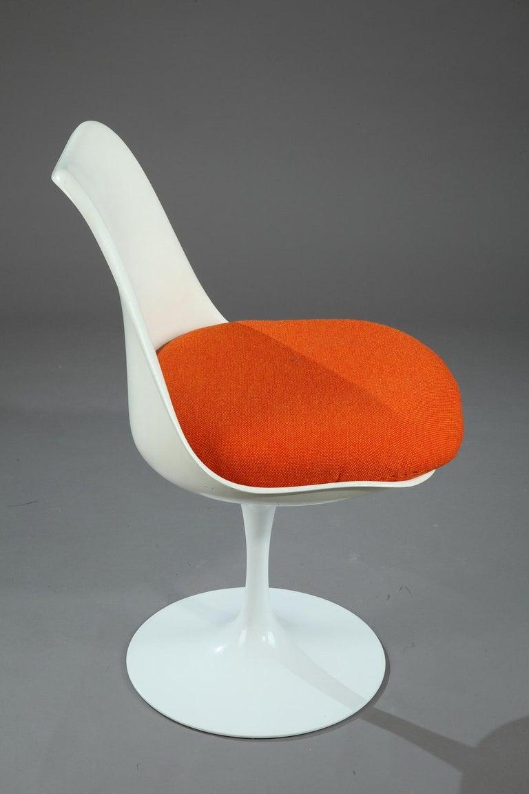 20th Century Tulip Chair by Eero Saarinen In Good Condition For Sale In Paris, FR