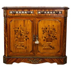 20th Century Two-Leaf Inlaid Cabinet