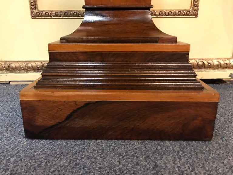 20th Century Unique Pillar or Pedestal or Column, Rosewood, England, Victorian For Sale 2