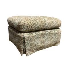 20th Century Upholstered Ottoman